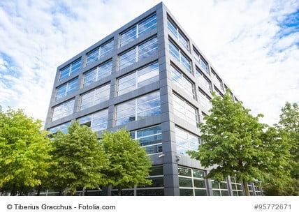Für Bürogebäude muss bei einer Betriebsübernahme eine Immobilienbewertung werden.