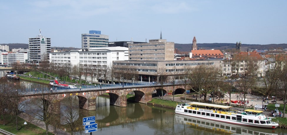 Immobilienbewertung Saarbrücken: Blick vom Schloss