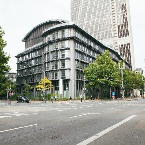 Außenansicht Büro Frankfurt