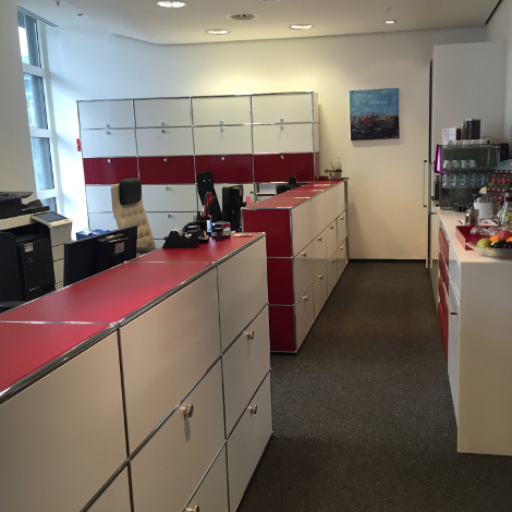 Empfang Büro Frankfurt