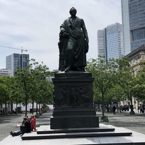 Goethe Statue Frankfurt