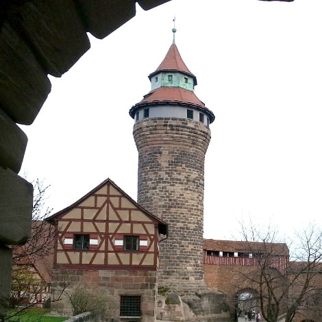 Tor vor der Kaiserburg Nürnberg