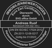 EU-Zertifizierung - Andreas Ruof