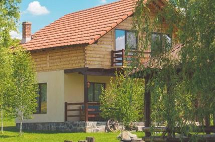 Haus im Grünen als potenziell passende Immobilie