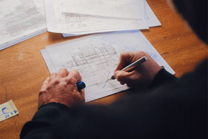 Wohnflächenberechnung für Wohngebäude